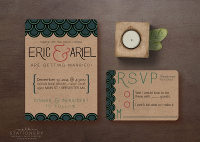 Eric & Ariel Customizable wedding Invite & RSVP