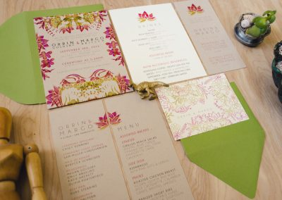 Orrin & Margo Succulent Wedding Stationery Suite