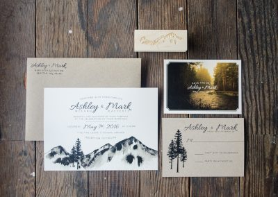 Three Sisters Wedding Stationery Suite