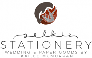 Selkie Stationery Logo - Contact