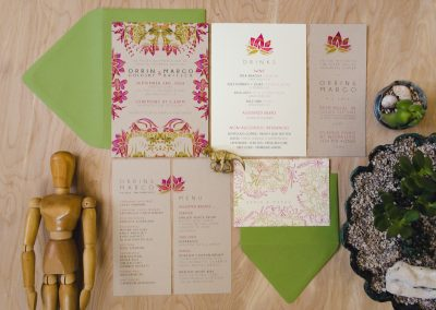 Orrin & Margo Wedding Stationery Suite