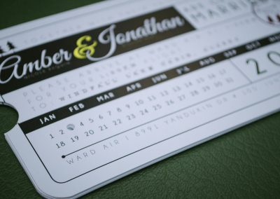 Amber & Jonathon Plane Ticket Invites