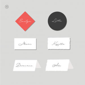 Selkie Stationery - Place Cards