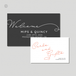Selkie Stationery - Signage