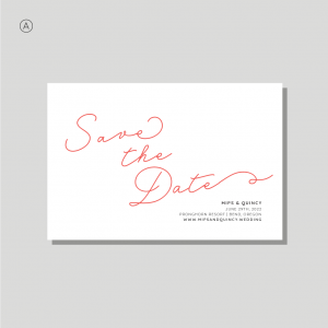 Selkie Stationery - Save the Date