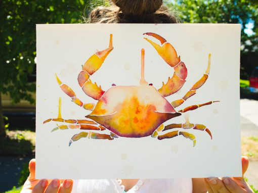 WATERCOLORS + CALLIGRAPHY + SCREEN PRINTS, OH MY