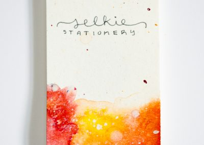 Selkie Stationery Handmade Business Card