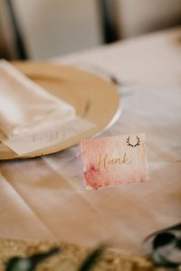 Watercolor Wash Place Card