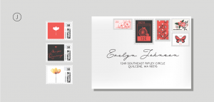Selkie Stationery - Stamps